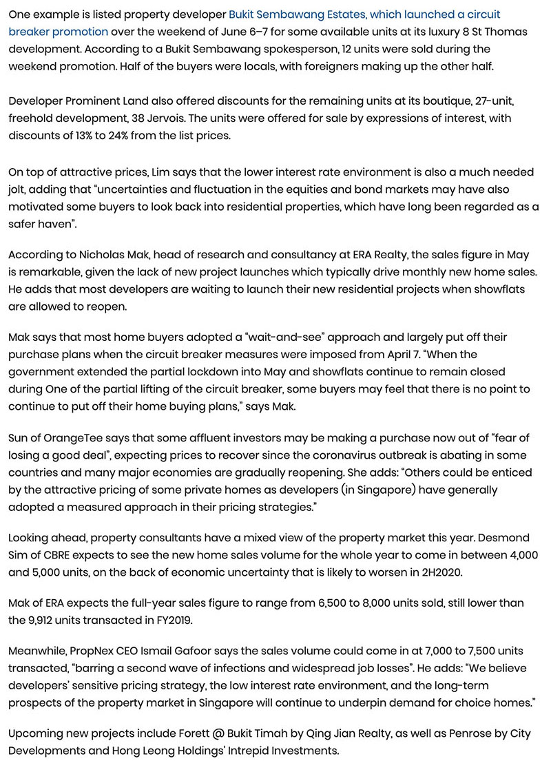 Canninghill Piers - New home sales see strong rebound in May, up 75.5% Part 2
