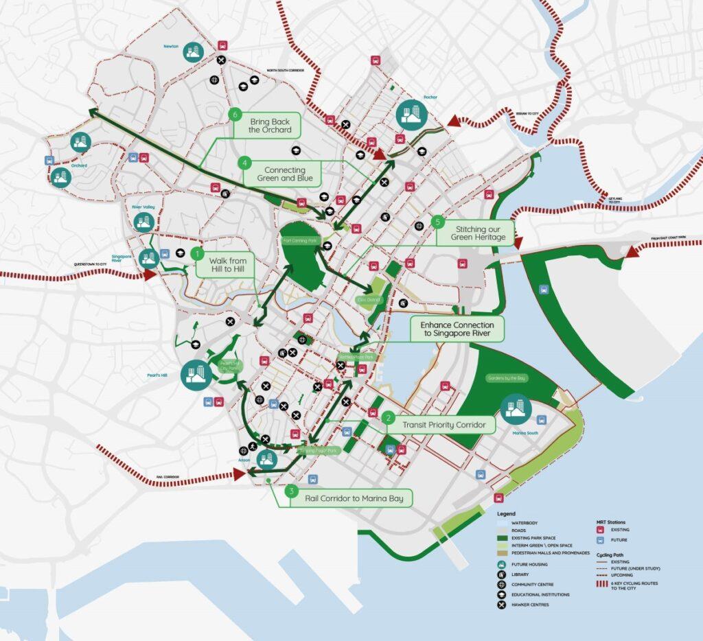 Canninghill Piers - Central Region URA Master Plan