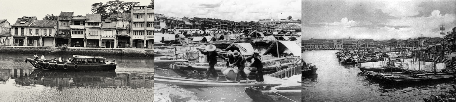 Canninghill Piers - Clarke Quay History