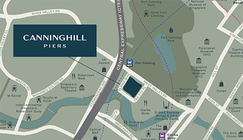 Canninghill Piers Location Map Thumbnail Singapore