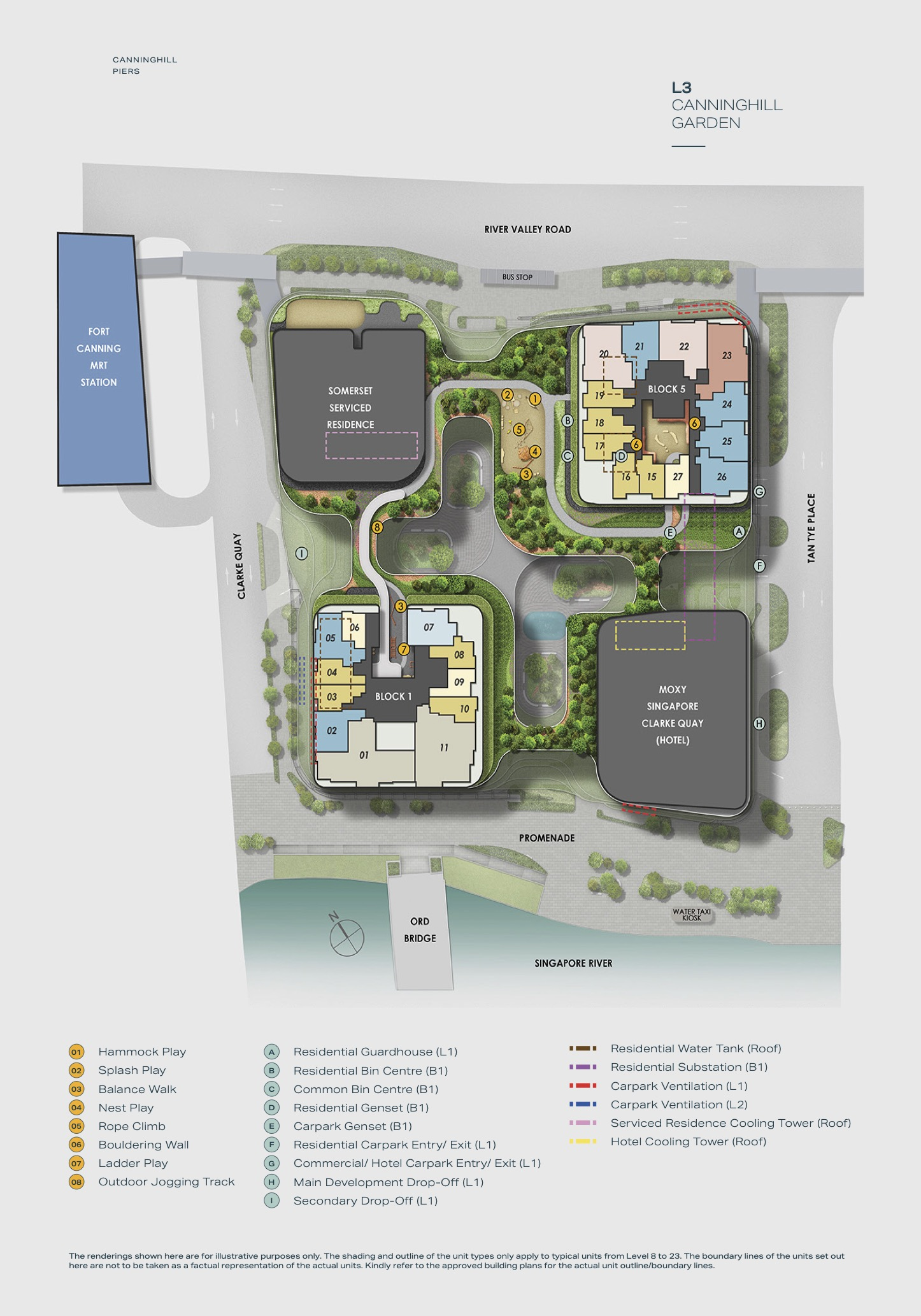 Canninghill Piers Site Plan 3